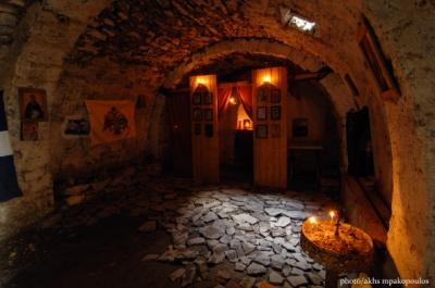 Προφήτης Ηλίας στην κορυφή Κισσάβου
