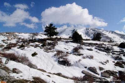 Τοπίο Κισσάβου από πίσω πλευρά του Κισσάβου
